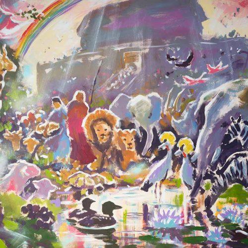 God's Promise to Noah - Print