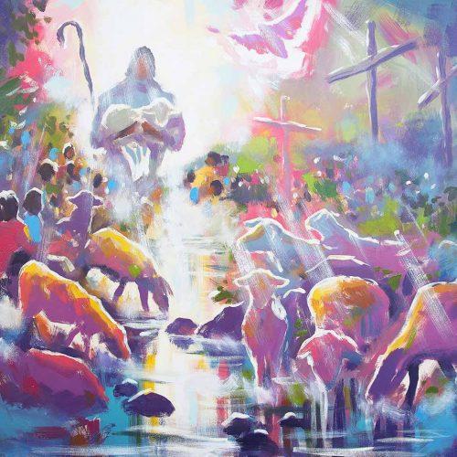 I Am The Good Shepherd - Print - Biblical Art
