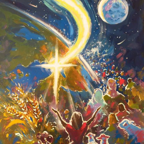 Light In The Darkness - Print - Biblical Art