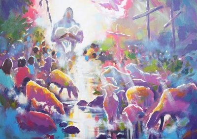 I Am The Good Shepherd - DTW Original by Paul Oman