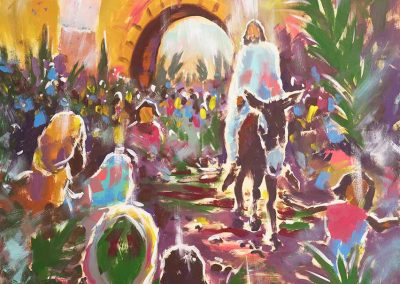 Triumphal Entry Into Jerusalem - DTW Original