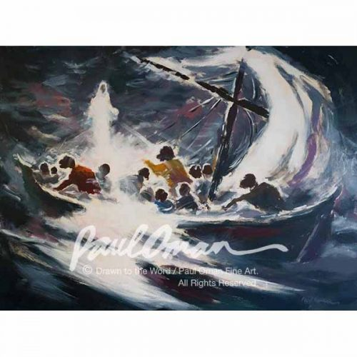 Jesus Walks On Water 2