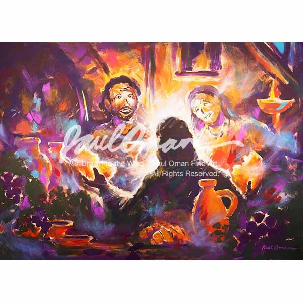 Then Their Eyes Were Opened, Road to Emmaus, Breaking of Bread