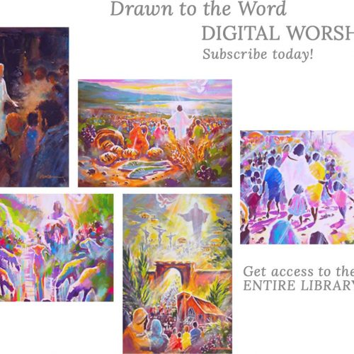 Drawn to the Word Image Subscription