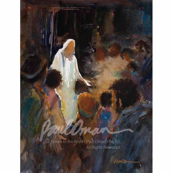 Jesus Visits Disciples in Locked Room