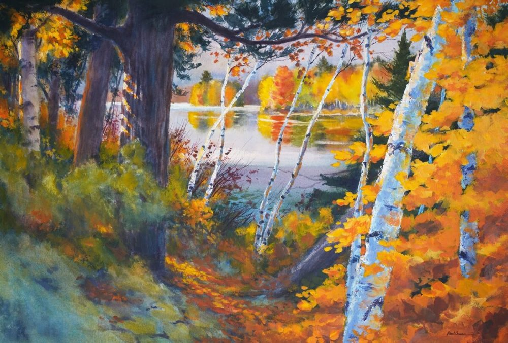 Autumn Palette watercolor Paul Oman