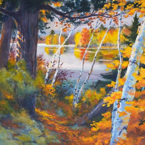Autumn Palette watercolor Paul Oman